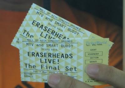 My Eraserheads Final Set Free Tickets