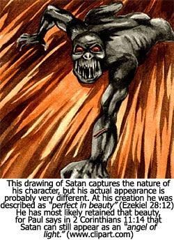 Satan's Appearance