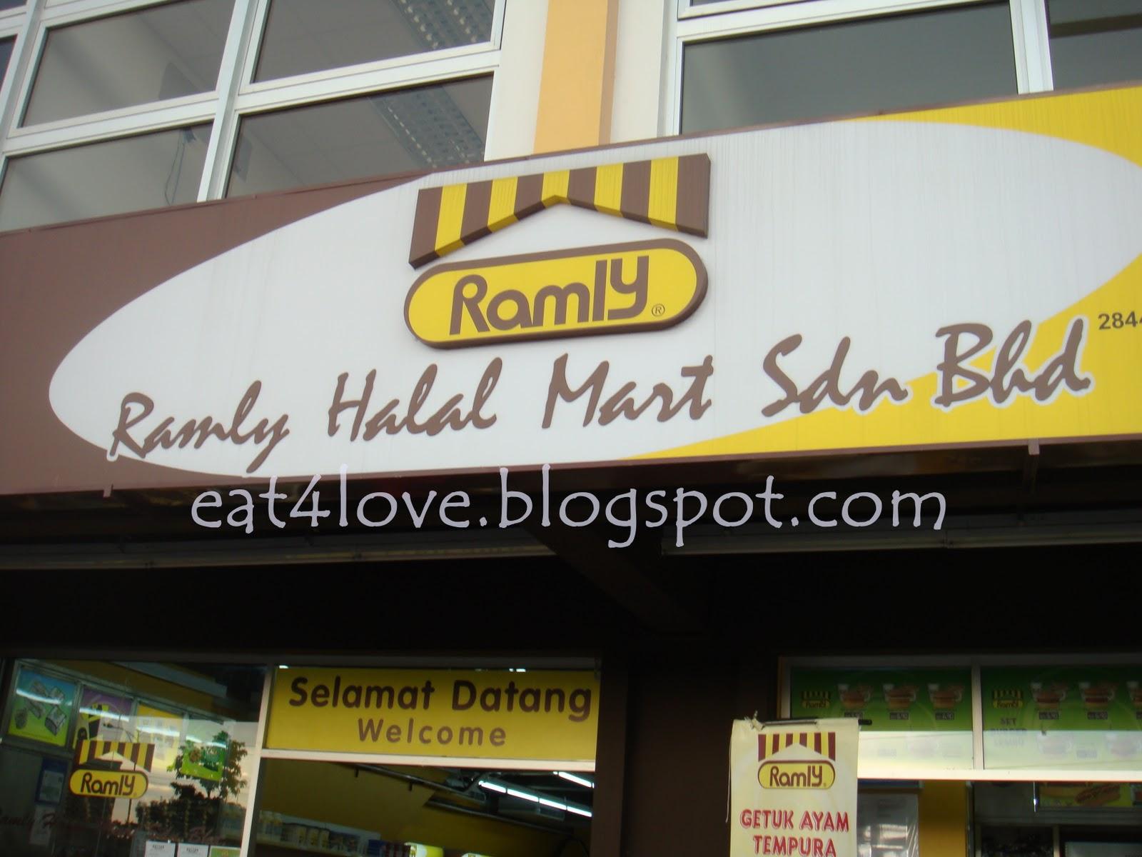 inilah kedai Ramly... cari2, hihi...