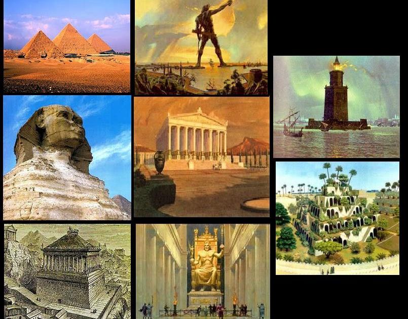 Mundo espiritual las 7 maravillas del mundo antiguo for Arquitectura del mundo antiguo