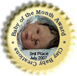 Baby Of The Month Award