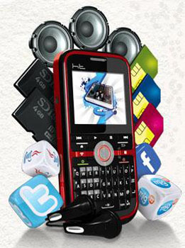 ht mobile m18 cell phone   gallery handphone