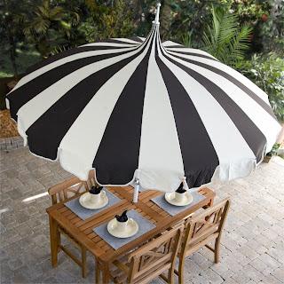 Shopzilla - Black Market Umbrellas Umbrella Solar Light Outdoor