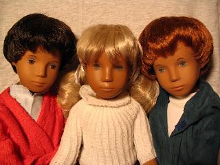 Brunette, Blonde, & Redhead trio