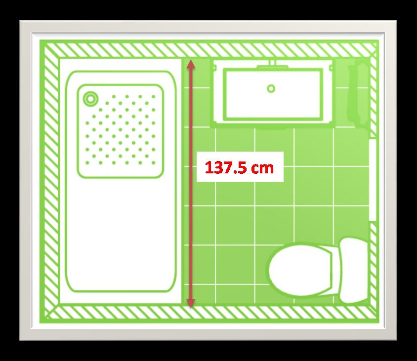 Medidas De Un Baño Con Ducha:Baño con Ducha: Como medir platos de ducha y mamparas sin cometer