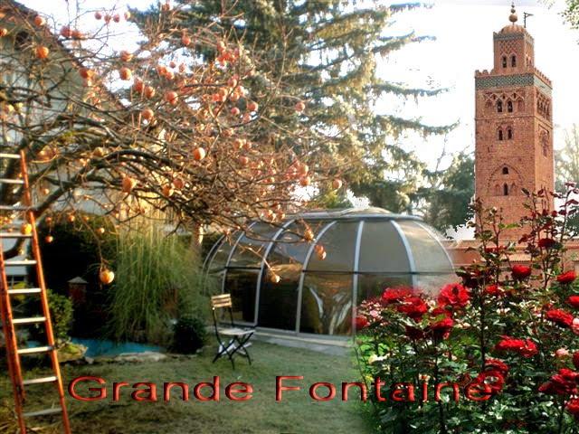 Grande fontaine et Chante oiseaux