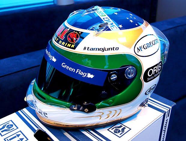 Rubinho capacete de 300 GPs