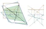 Recta horizontal pertencente a um plano - 1