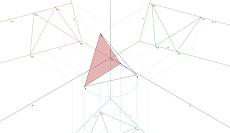Isometria de um Tetraedro Regular
