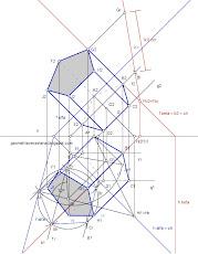Prisma pentagonal regular de bases oblíquas