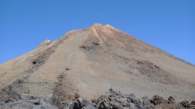 Księżycowy krajobraz el Teide/El Teide-lunar landscape