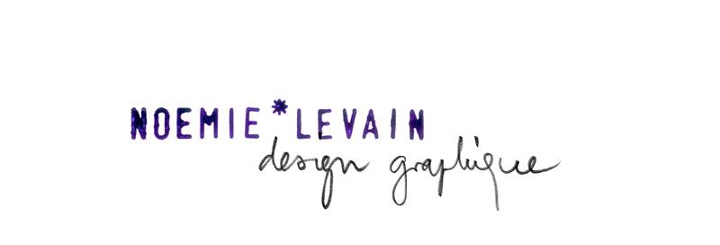 noémie levain * design graphique