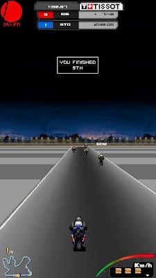 8 Rakiplı Bisiklet Yarışı Oyunu