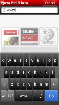 Opera Mini Nokia 5530