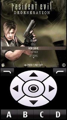 Resident Evil Degeneration Nokia 5800
