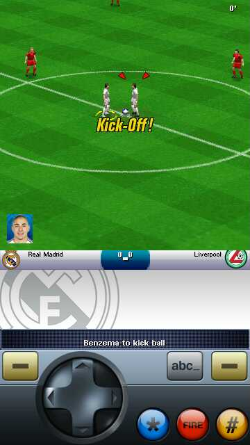 Android Real Football 2010