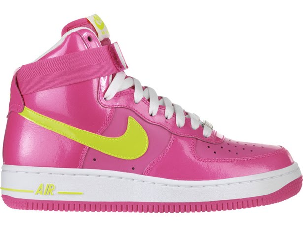 shoes nike air force 1 high wmns pink. Black Bedroom Furniture Sets. Home Design Ideas