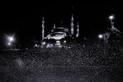 sultanahmet camii blue mosque, la mosquée bleue, istanbul, turkey, photo © dominique houcmant
