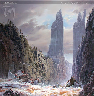 Seigneur des anneaux - Argonath