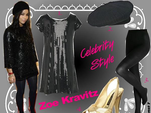 Celebrity Style: Zoe Kravitz