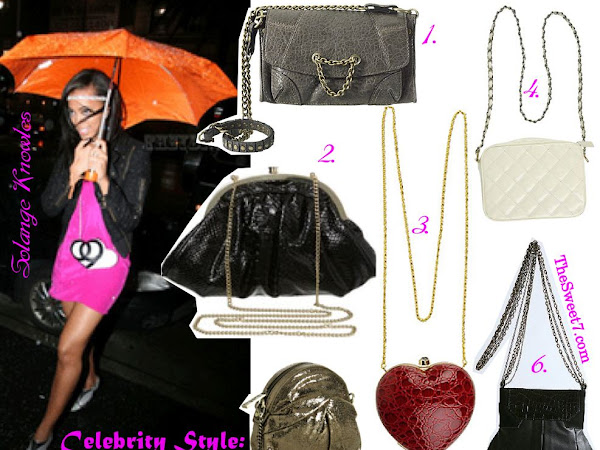 Celebrity Style: Long Chain Bags