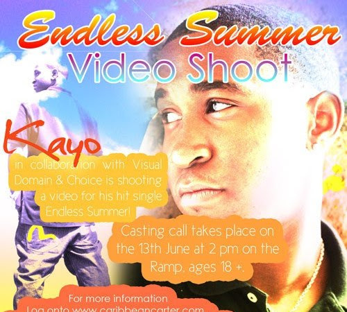 Kayo - Endless Summer Video Shoot