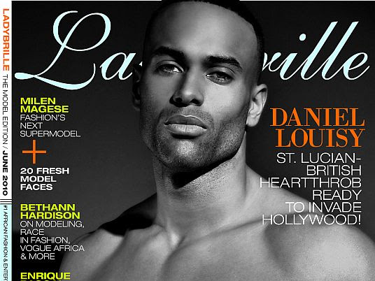 Daniel Louisy, St.Lucian-British Heartthrob Covers Ladybrille Magazine June Model Edition