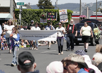 United PAWS represented at Tillamook County's June Dairy Parade