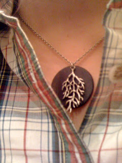 branch necklace @ Brittany's Cleverly Titled Blog