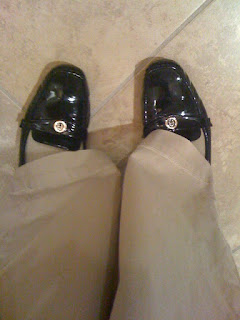 black loafers @ Brittany's Cleverly Titled Blog