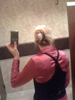 lazy hairdo @ Brittany's Cleverly Titled Blog