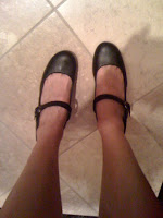 black Mary Janes @ Brittany's Cleverly Titled Blog