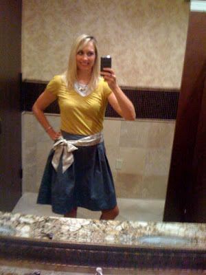 Brittany in a bubble skirt @ Brittany's Cleverly Titled Blog