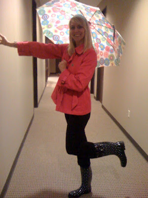 singing in the rain @ Brittany's Cleverly Titled Blog