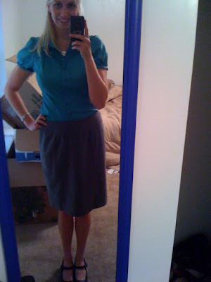 what to wear to interview at Brittany's Cleverly Titled Blog