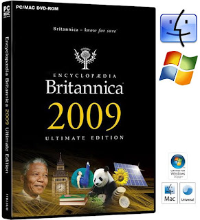 Encyclopedia Britannica 2009 ULTIMATE Reference Edition DVD