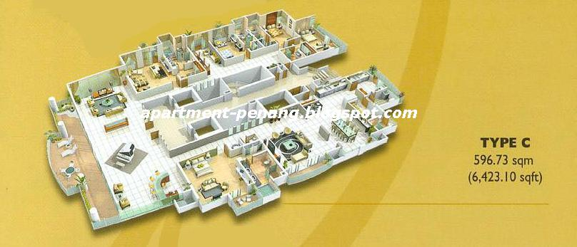 H Residence Apartment Penang Com