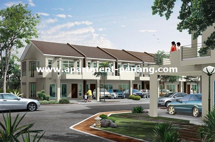 Pearl garden simpang ampat apartment for Terrace 9 penang
