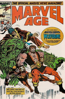 Marvel Age #65 - Comic of the Day