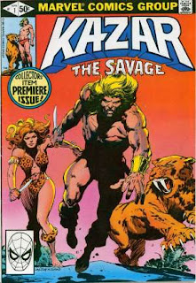 Ka-zar the Savage #1 - Comic of the Day