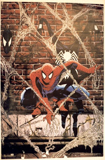 Todd McFarlane Spider-Man Poster - Comic of the Day