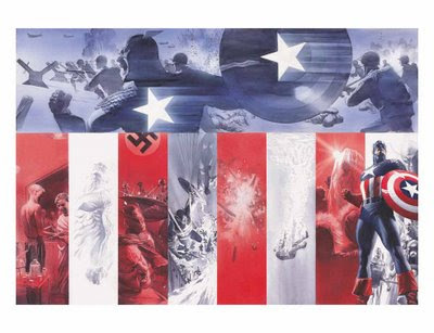 Alex Ross Captain America Poster - Comic of the Day