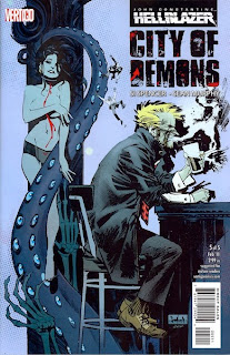 Hellblazer: City of Demons #5 - Comic of the Day