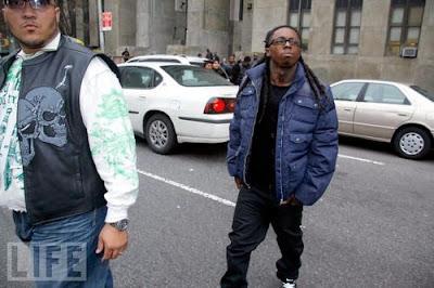 Lil Wayne recebe punição é vai para solitária
