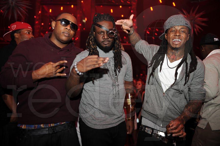Fotos: Lil Wayne, Mack Maine & T-Pain no clube LIV em Fontainebleau