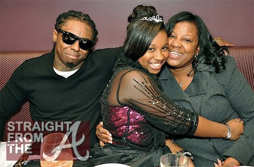 Lil Wayne comemora aniversário da filha, Reginae Carter