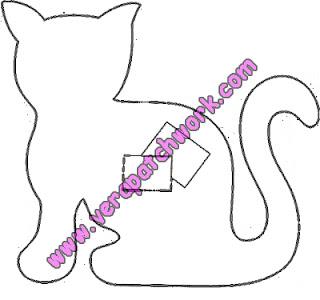 vp gato 786187 Gatos para vários fins (inclusive patchcolagem) para crianças