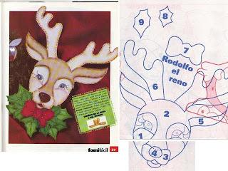 veado+1 733550 Canguru, dinossauro, esquilo, formiga, jacaré, rena, alce, tudo em feltro para crianças