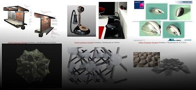Galeria de trabajos ESEDI con Autocad 3D y renders