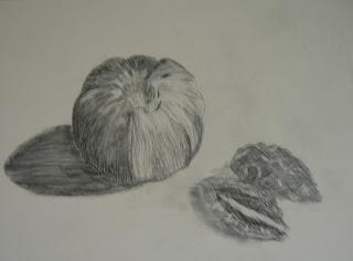 pencil sketch by original Amrican artist atul pande